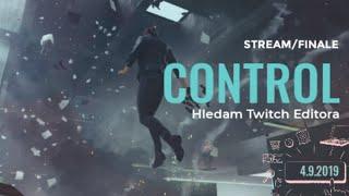 CONTROL | Hledám Twitch Editora 4.9.2019 stream/FINALE