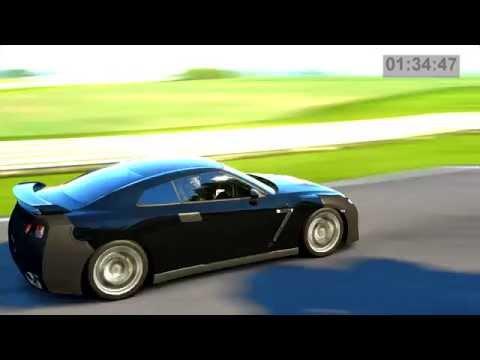 Seasonal Allergies – '07 Nissan GT-R Black Mask – Eifel: Flat – Non-Racecar Super Lap
