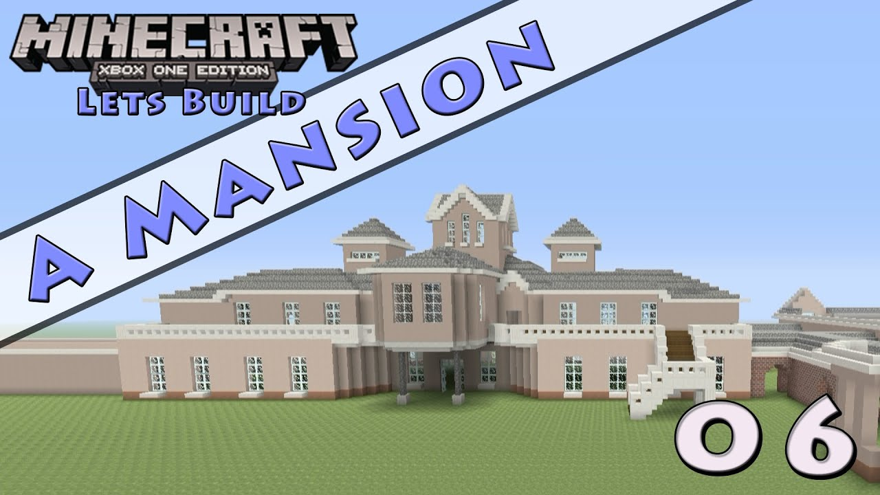 Minecraft :: Lets Build A Mansion :: E6