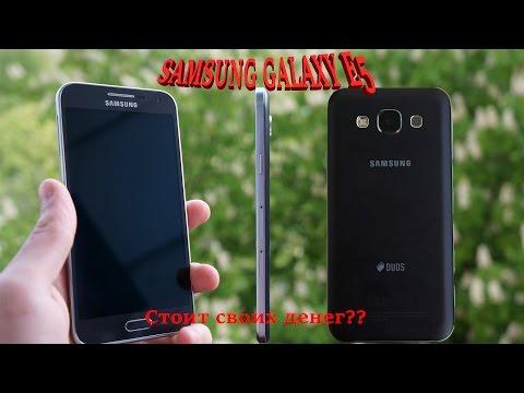 Опыт использования Samsung Galaxy E5. Обзор Samsung Galaxy E5