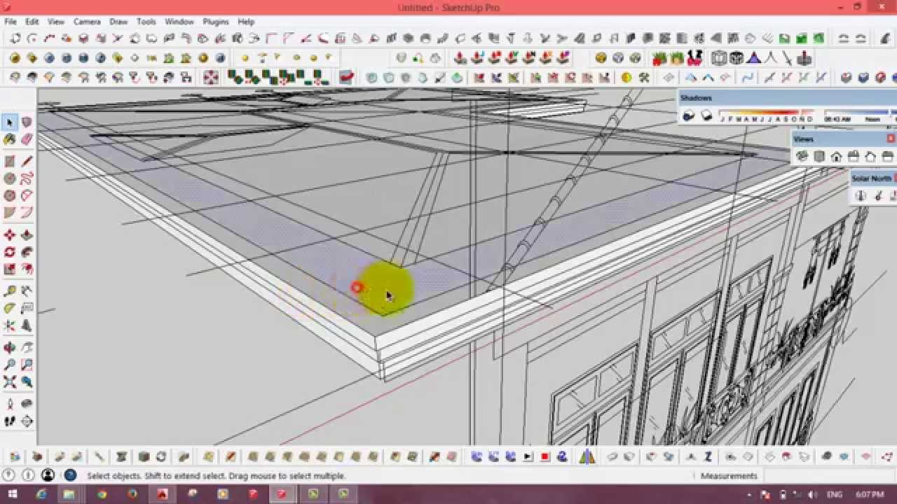 How to draw a gambrel roof in sketchup - How To Draw A Gambrel Roof In Sketchup 21