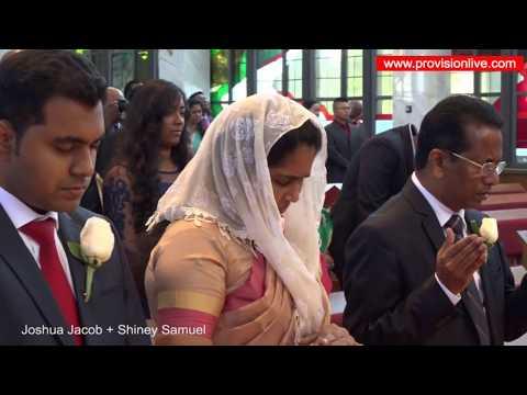 Joshua Jacob Weds Shiney Samuel