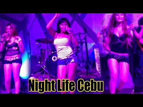 Night life Cebu City Philippines
