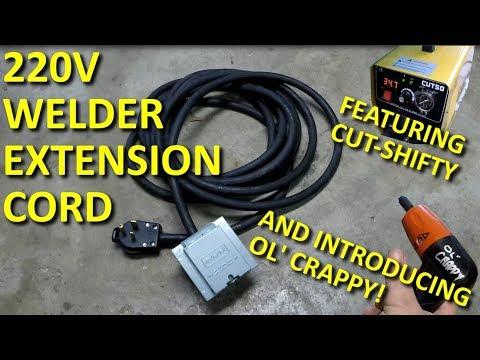 Welder 220V Extension Cord DIY