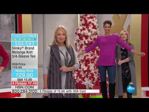 HSN | Slinky Brand Fashions 12.15.2016 - 05 AM