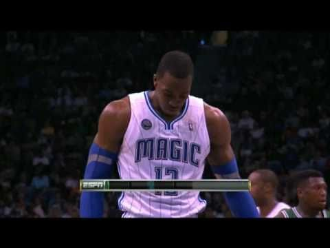 Dwight Howard 10 Second Free Throw Violation