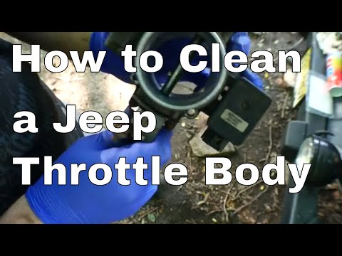 How to Clean a Jeep Wrangler Throttle Body