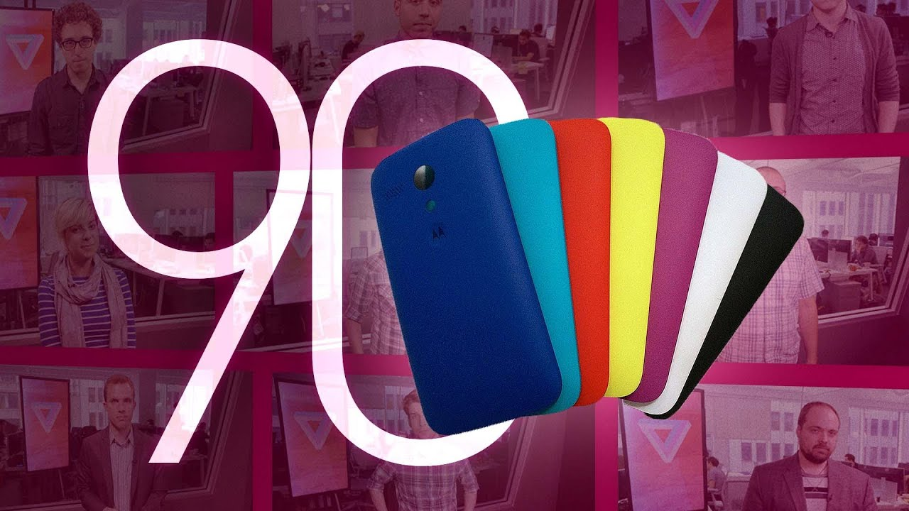Moto G, Chromebook 11, and Hulu Plus: 90 Seconds on The Verge