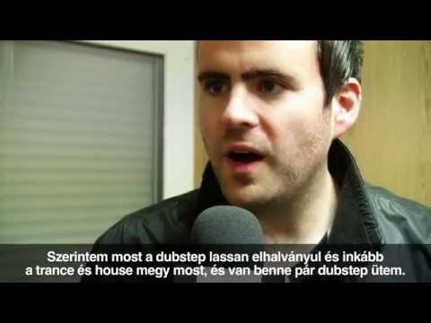 Gareth Emery interview @ Heineken Balaton Sound 2012
