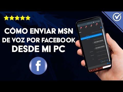 Cómo Enviar o Mandar Mensajes de voz por Facebook Messenger Desde mi PC