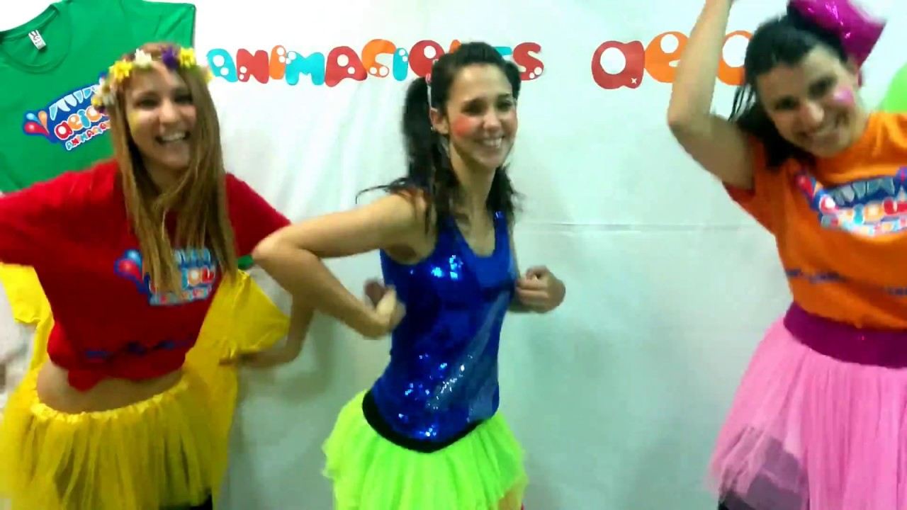 ab55eef61be2 Bailes infantiles con coreografía para niños: el baile del cuadrado ...