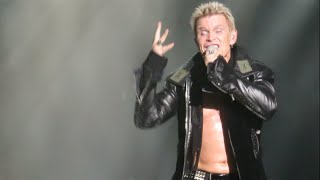 Billy Idol - White Wedding - Concert - Paris 2015 TODshow