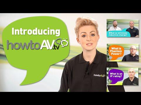 HowToAV.tv - free online training for the professional AV industry and AV users