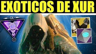 Destiny 2 - Localización de Xur! Ultima Invitación de los Nueve! Inventario Exóticos! | 17 de Mayo