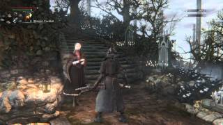 Bloodborne: Doll's reactions to gestures.