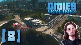 KOLEJKA JEDNOSZYNOWA RUSZYŁA || Cities: Skylines [S2][#8]