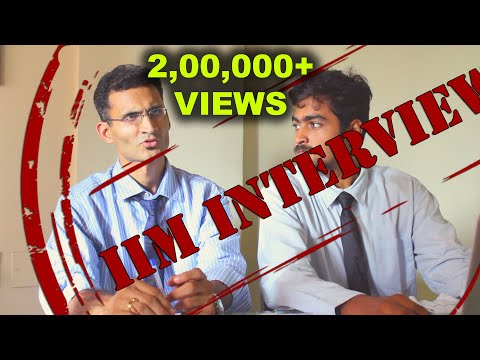 IIM Personal Interview Round  | Based on Real Life | Ritesh Meena | MBA/MMS | buZZIng Interview 01