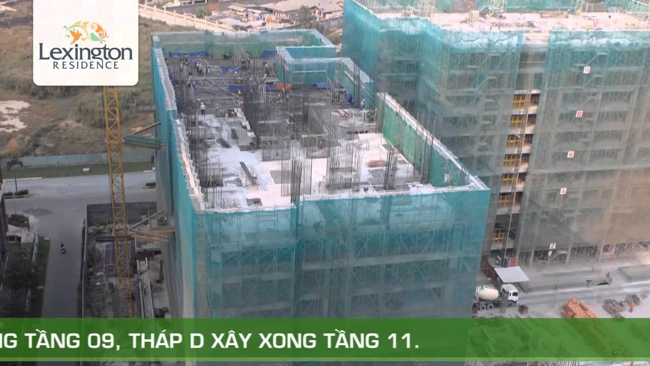 Tiến độ xây dựng dự án Lexington tháng 02/2015 – Novaland