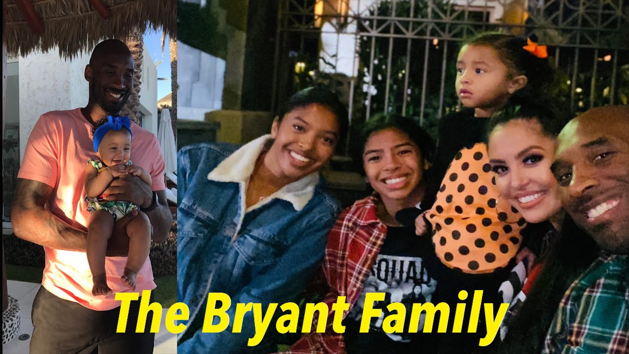 BRYANT FAMILY SWEET MOMENTS VIDEO CLIP | KOBE BRYANT AND VANESSA BRYANT FOUR BEAUTIFUL DAUGHTERS