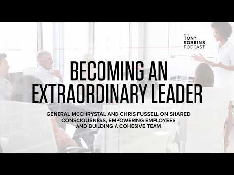 Lessons in Leadership from a 4-Star General | Tony Robbins Podcast