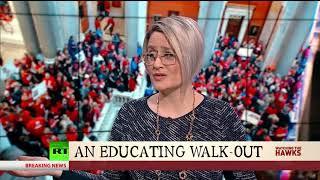 An Educating Walk-Out & Senators vs. Big Pharma | Watching the Hawks on RT America |