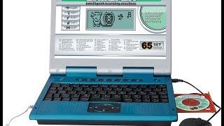 Видео обзоры игрушек - Детский обучающий ноутбук . Children's learning laptop