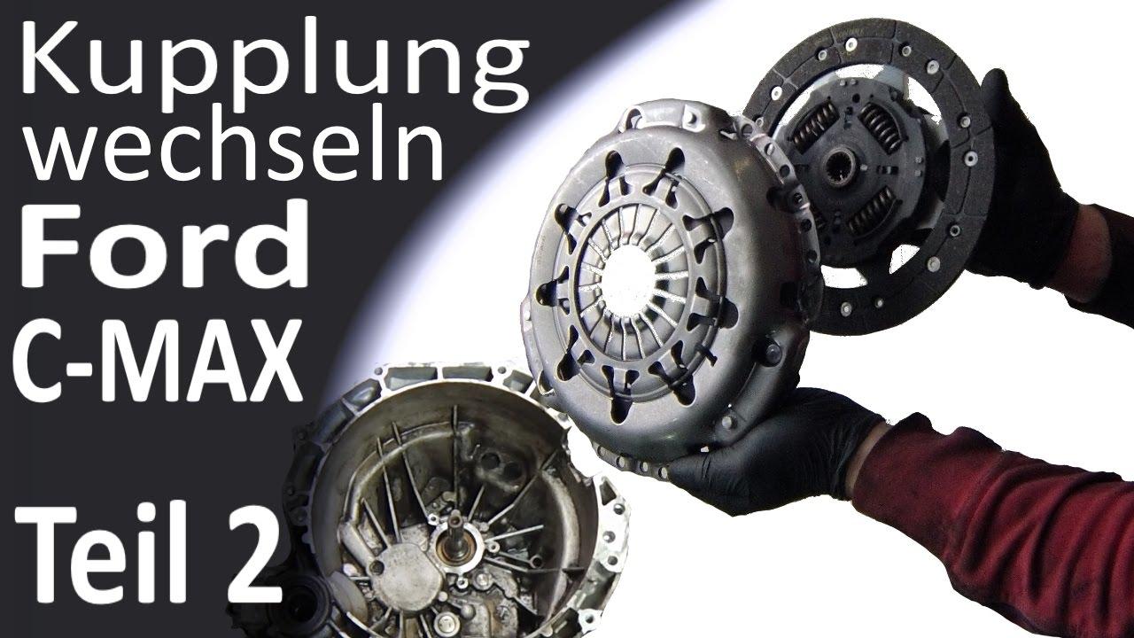 ford c max getriebe ausbauen kupplung wechseln teil 2 3. Black Bedroom Furniture Sets. Home Design Ideas