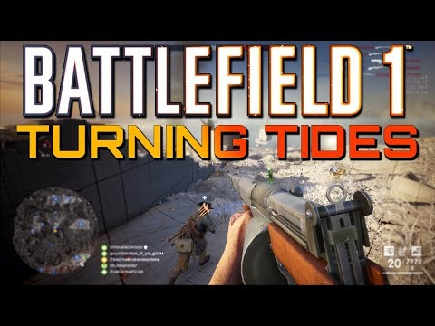Battlefield 1: Turning Tides DLC New Map Cape Helles (PS4 PRO Multiplayer Gameplay CTE)