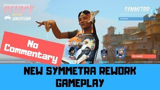 Symmetra Rework Gameplay - Overwatch No Commentary