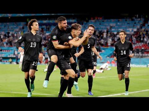 Germany vs Hungary: GOAL! Goretzka makes it 2-2!