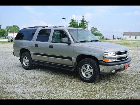 2001 chevrolet suburban 1500 ls for sale dayton troy piqua sidney ohio cp13973t youtube. Black Bedroom Furniture Sets. Home Design Ideas