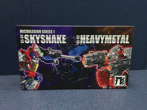 Shapeshift, Inc. Microlegion Series 1 - SKYSNAKE and HEAVYMETAL
