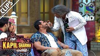 Dr. Gulati performing Tooth Test on John Abraham - The Kapil Sharma Show- Episode 27 -23rd July 2016