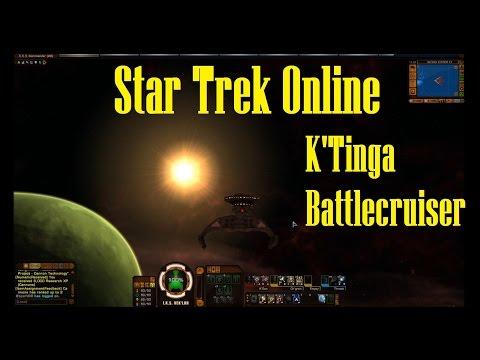 Star Trek Online: K'Tinga Battlecruiser!
