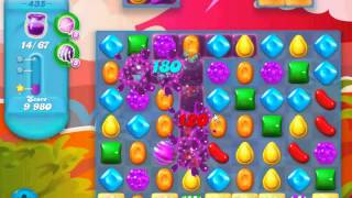 Candy Crush Soda Saga - level 435 (No boosters)