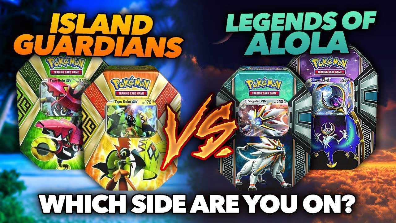 Island Guardians vs Legends of Alola | Which side are you ...