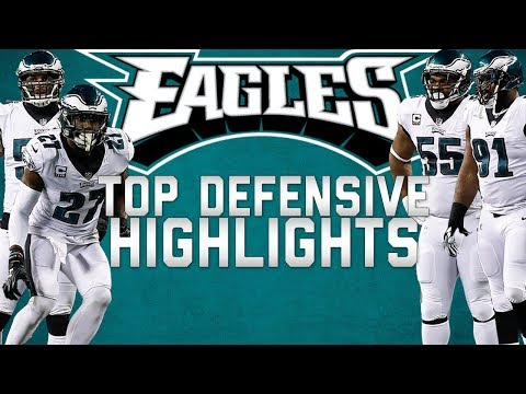 Philadelphia Eagles Top Defensive Highlights From The 2017 Season 🦅  | NFL Highlights