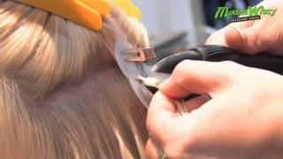 Przedłużanie włosów metodą na zgrzew keratynowy - Targi Uroda