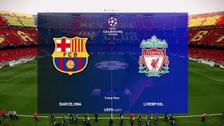 PES 2019 | Barcelona vs Liverpool Champions League 1 May 2019 Gameplay