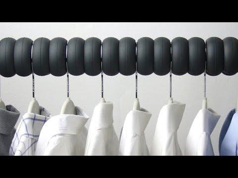 옷장을 깔끔하게 정리하는 사소한 아이디어