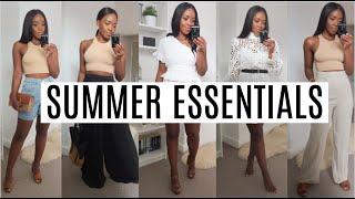MY SUMMER ESSENTIALS | ZARA H&M ETC....