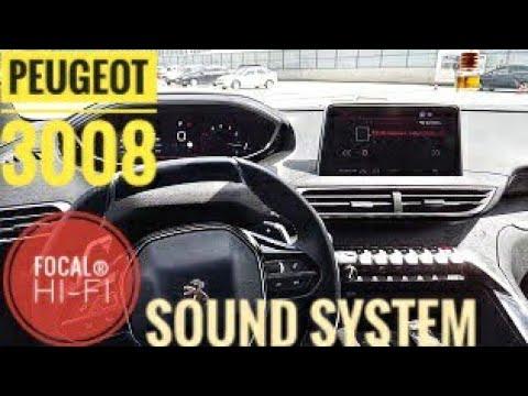 PEUGEOT SUV 3008 FOCAL® HI-FI SOUND SYSTEM {1}