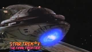 Star Trek V: The Final Frontier Trailer 1989