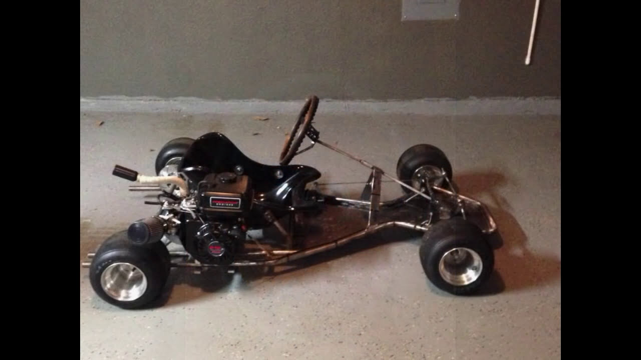 Homemade Racing Go Kart (Shifter Kart Frame) Build  Build Break Repeat  13:12 HD