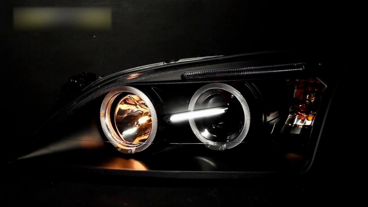 Тюнинг фары Форд Мондео 3   Headlights Ford Mondeo 3 - YouTube