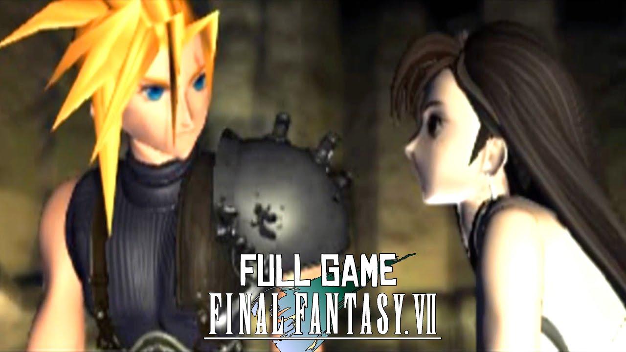 Final Fantasy 7 Original Ps1 Full Game Walkthrough No Commentary Youtube