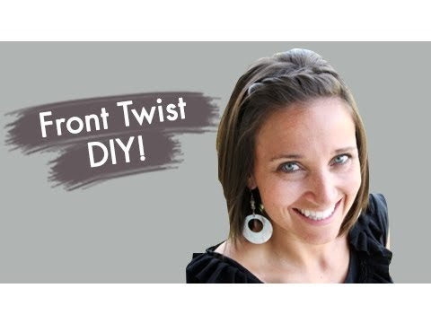 Cute Girls Front Twist Bangs/Fringe Hairstyles