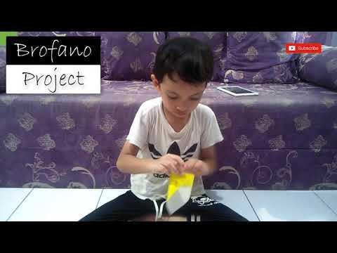 Brofano Project: Bikin Pesawat Terbang Kertas Viral
