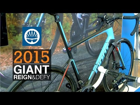 Giant 2015 Defy Advanced SL and the Giant Reign Advanced 27.5