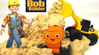 BOB THE BUILDER MASH AND MOLD PLAYSET WITH BOB TINY DIZZY MOLDABLE PLAYSAND thumbnail